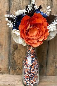 Paper Flower Bouquet Etsy Paper Flower Wedding Bouquet Fall Paper Flower Bouquet Paper Peony