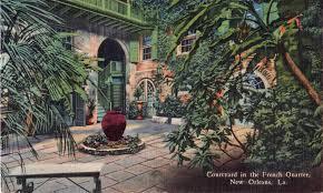 patio planters of the vieux carré