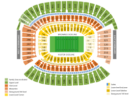Cleveland Browns Stadium Seating Chart View Firstenergy Stadium Cleveland Seating Chart And Tickets