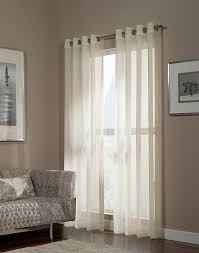Sheer Curtains Bedroom Sheer Curtain Panels White