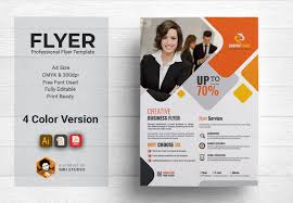 Corporate Flyer Template Photoshop Action