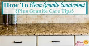 how to clean granite countertops care amazing concrete countertop