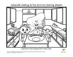 Small Picture cooking safety tips for kids coloring sheets Click For JPG
