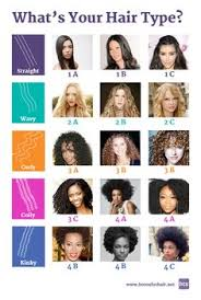 Curl Type Chart Devacurl 7 Best Curl Type Chart Images Hair Type Chart Natural