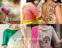 Latest Frill Blouse Design Trending Hot Blouse Designs With Frills Pleats Fancy