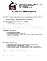 Cover Letter Job Objective Statement For Resume Social Work