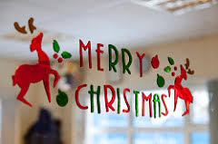 christmas decoration in office. Office Christmas Decoration In