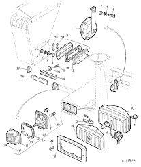 955 bine fuse box horn headlights clearance lights 01f11 epc rh jd part john deere 5203 fuse box cover fuse box on john deere 4450