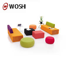 colorful modern furniture. Office Furniture Colorful Modern Lobby Sofa Design Fabric Combination Sofas Set Breakout M