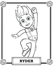 Skye Paw Patrol Coloring Pages Page And Everest Auchmar