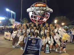BGHS cheerleaders win top spot at national competition   News ...