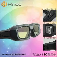 3d Rf Bluetooth Active Glasses For Epson Elpgs03 Home Cinema
