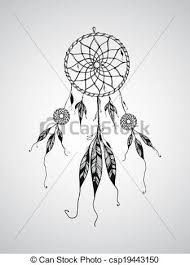 What Is A Dream Catcher Used For Vector dream catcher mascotcan be used for tattoo clipart vector 53