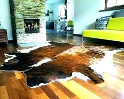 ikea hide rug hide rug cow rugs cowhide brindle white belly on with synthetic area ikea hide rug