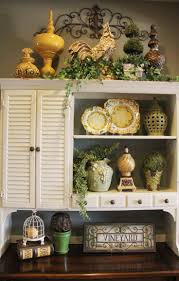 Above Kitchen Cabinet Decorative Accents Fresh Recent Decorating