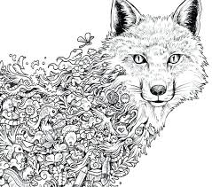 Free Coloring Book Pages For Adults Free Printable Animal Mandala