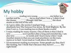 sample essay on my hobby for school and college students essay on my favourite hobby cricket