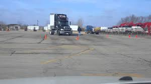 mercial driver s license cdl cl a backing skills test at the west chicago test facility