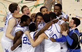 Ncaa Basketball Championship Kentucky Tops Kansas For John