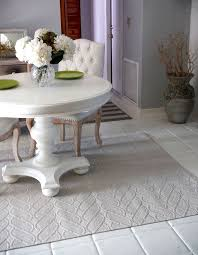 picture of paint your floor tiles with chalk paint
