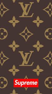 Supreme Design Wallpaper Supreme X Louis Vuitton Iphone Wallpaper