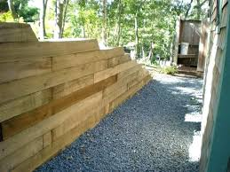 railroad tie retaining wall introduction ties landscaping cost home design apps f