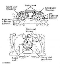2001 nissan sentra timing chain marks engine mechanical problem see pics for the two engine types 2 liter 1 8 liter mark mhpautos