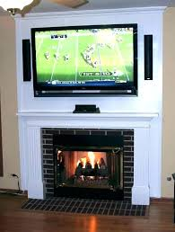 hanging tv over fireplace mounting above fireplace mounting a above a gas fireplace how to hang