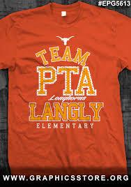 Elementary Shirt Designs Epg5613 Team Pta Shirt Design Pta School Spirit Shirts