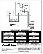 psr universal pump start relay rain bird psr universal pump start relay u 110 volt wiring diagram