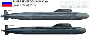 Us Submarine Classes Chart Russias Newest Yasen Class Attack Submarines Are The Equal