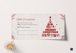 Personalised Gift Vouchers Templates Christmas Gift Vouchers Templates Free Download Cardsificate