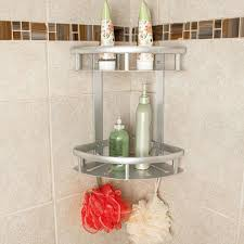 toolkiss aluminum corner shower caddy
