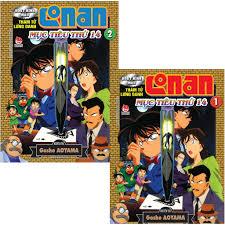 Truyện tranh Thám Tử Lừng Danh Conan Hoạt Hình Màu: Mục Tiêu Thứ 14 (combo  tập 1+2)