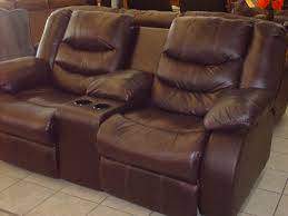 Double Rocker Recliner Loveseat Living Room Double Recliner Sofa With Console Montgomery