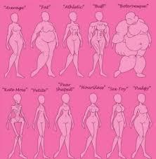 Female Body Types Chart Female Body Type Chart Imgur