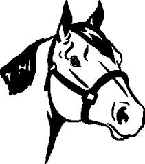horse head clipart. Plain Horse With Horse Head Clipart D