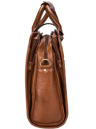 premium high quality large genuine leather bag cosmus alaska tan laptop bag fits 17 inches