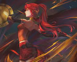 11++ Wallpaper Anime Girl Ruiva - Tachi ...