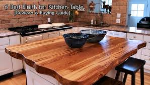 8 best finish for kitchen table 2021