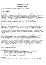 Cover Letter Advertising Manager Job Description Advertising Manager ...