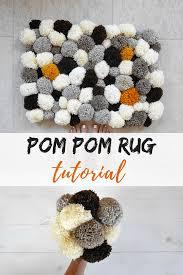 Tips and tricks to make your own diy bathroom pom pom rug