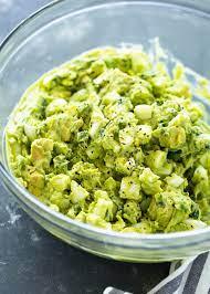 creamy avocado egg salad gimme delicious