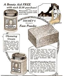 1920s beauty creams washes cleasers