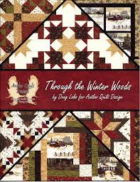 Through the Winter Woods Book by Doug Leko for Antler Quilt ... & Through the Winter Woods Book by Doug Leko for Antler Quilt Designs AQD-0402 Adamdwight.com