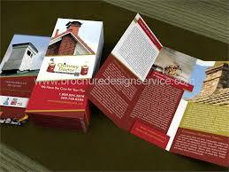 Tri Fold Samples Home Maintenance Company Brochure Design Samples Printing