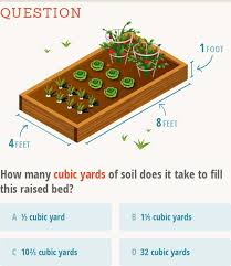 gardening by the numbers how to calculate cubic feet and cubic yards