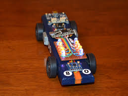pinewood derby race cars arduino powered pinewood derby race car make