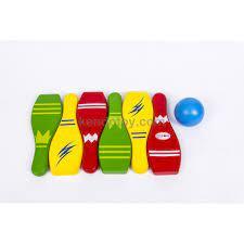 Trò chơi Bowling | Đồ chơi trẻ em bằng gỗ