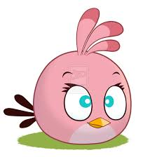 Angry Birds The Smart Pink Bird